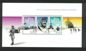 AAT98) Australian Antarctic Territory 2012 Phillip Law Minisheet MUH
