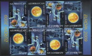 Azerbaijan stamp MNH Europe CEPT booklet sheet 2009 WS54168