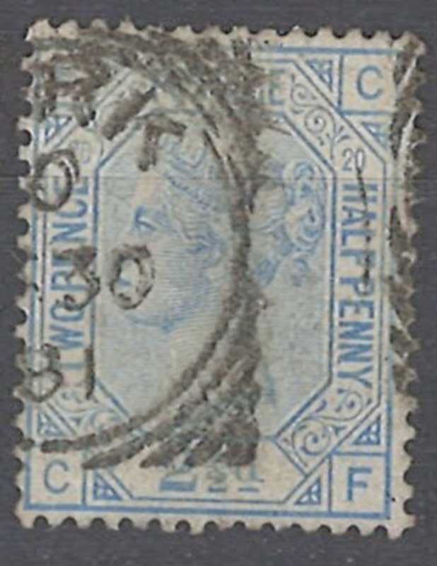COLLECTION LOT OF # 1923 GREAT BRITAIN #68 pt 20 1880 CV=$65