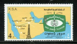 SAUDI ARABIA SCOTT# 688 MINT NEVER HINGED AS SHOWN