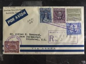 1931 US Consulate Guatemala first flight Diplomatic cover FFC To Miami FL USA