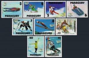 Paraguay 1899 ag-1901,1902-1904 sheets,MNH. Olympics Lake Placid-1980.Champions.