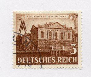 Germany 1943 Early Issue Fine Used 3pf. NW-100724