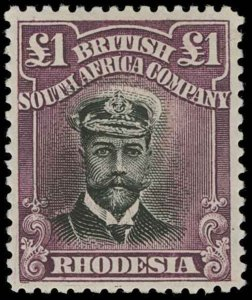 Rhodesia Scott 138 Variety 3 Gibbons 279a Mint Stamp