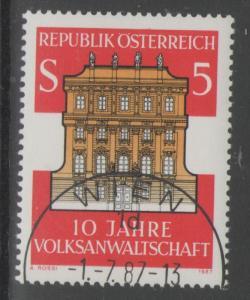 AUSTRIA SG2134 1987 OMBUDSMEN FINE USED