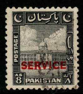 PAKISTAN SGO22 1948 8a BLACK FINE USED