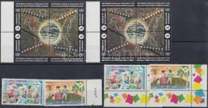 UN Vienna stamp 2 blocks of 4 + 4 diff. stamps MNH 1994 WS169612