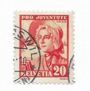 Switzerland #B75 Used - Stamp - CAT VALUE $2.75