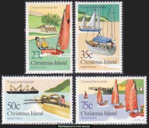 Christmas Islands Scott 138-141 Mint never hinged.