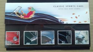 Great Britain 1996 Classic British Sports Cars Mint
