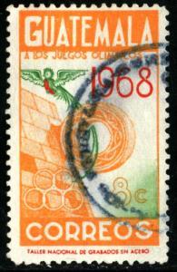 Guatemala - SC #C401 - USED - 1968 - Item G128