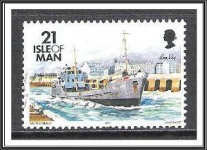 Isle of Man #544a Ships Used