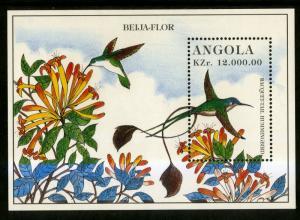 ANGOLA 960 MNH S/S SCV $2.75 BIN $1.75 BIRDS