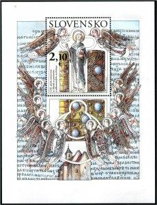 2020 Slovakia Consecration of St. Methodius - SS (Scott NA) MNH