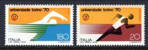 Italy 1016-1017 Sports MNH VF