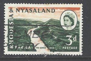 Rhodesia & Nyasaland Sc # 172 used (RS)