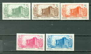 MAURITANIA FRENCH REVOLUTION #B4-8...SET...MINT...$48.00
