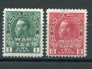 Canada #MR1 and MR2  Mint VF NH  - Lakeshore Philatelics