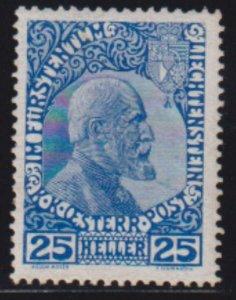 Liechtenstein 1912 SC 3 MLH