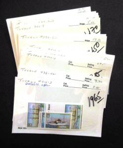 EDW1949SELL : TUVALU Beautiful VF MNH collection of all Diff Cplt sets Cat $460.