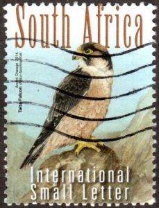 South Africa 1528b - Used - (14r) Taita Falcon (2014) (cv $2.60)