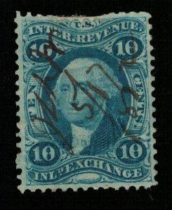 1862 USA Enland exchange Inter. revenue. 10c (TS-360)