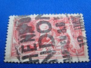 GREAT BRITAIN - SCOTT # 180  -  Used     (alb18)