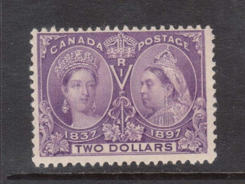 Canada #62 Mint With Nice Offset From Another #62