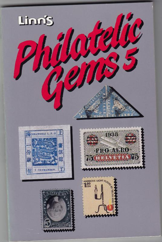 Lynn's Philatelic Gems 5 Book for Stamp Collectors NEW Never Read 164 pages