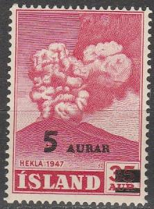 Iceland #283 MNH (S9012)