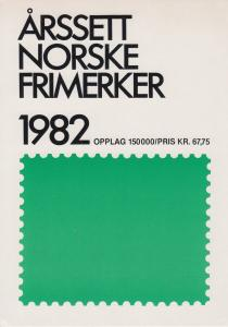 Norway, 1982 Year Set complete in Norway Post folder, fresh, VF
