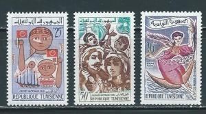Tunisia 396-8 1961 Festival set NH