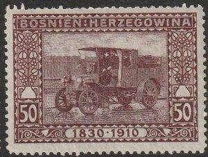 1910 50h Bosnia Herzegovina FJ Birthday Scenes