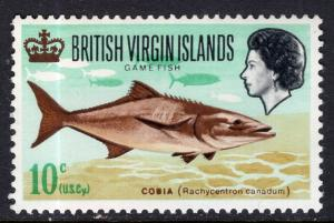 British Virgin Islands 187 Fish MNH VF