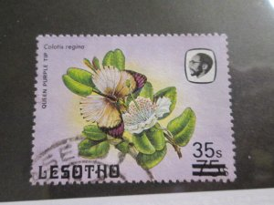 Lesotho #566 used  2021 SCV = $17.50