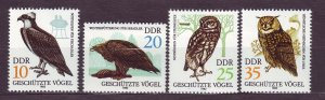 J23250 JL stamps 1982 DDR germany set mnh #2265-8 birds