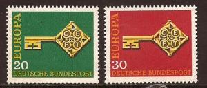 Germany  #  983 - 84  Mint  N H          B