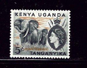 Kenya UT 115 MLH 1954 Elephants