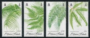 HERRICKSTAMP PITCAIRN ISLANDS Sc.# 821-29 Ferns