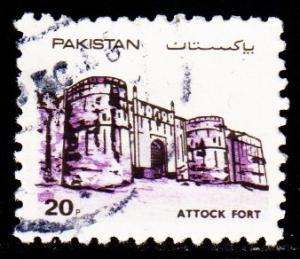 Pakistan - #616 Attock Fort - Used