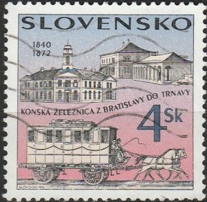 Slovakia, #256  Used , From 1996,  CV-$0.25