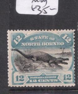 North Borneo SG 75 MOG (7dnn)