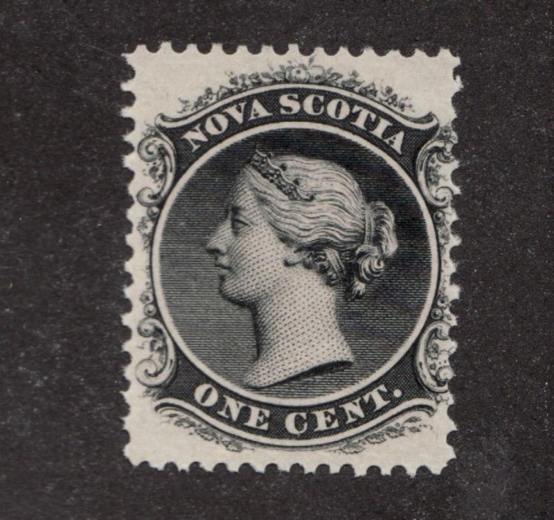 Nova Scotia  #8 ** MNH, Queen Victoria, 1 cent postage stamp