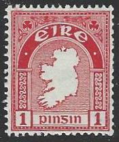 Ireland #107 MNH Wmk 262 Single Stamp