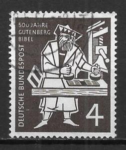 Germany 723 15th Century Printer Single Used (z1)