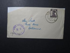 India 1944 Forces Cover / APO 273 (DELOALI) / K9 Censor - Z12410
