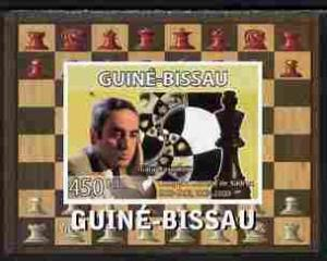 Guinea Bissau 2008 CHESS MASTER Gary Kasparov Deluxe s/s Mint (NH) #2