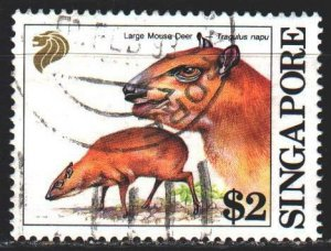 Singapore. 1993. 679 from the series. Deer fauna. USED.