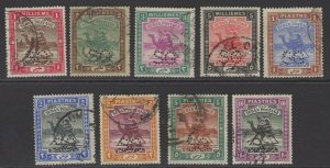 SUDAN SGO12/20 1913-22 OFFICIAL SET USED