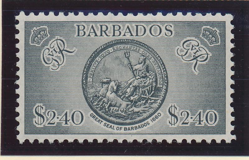 Barbados Stamp Scott #227, Mint Hinged - Free U.S. Shipping, Free Worldwide S...